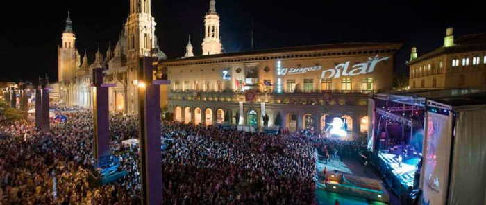 Portfolio Rampa Huesca Fiestas del Pilar 2016 Fuente Goya