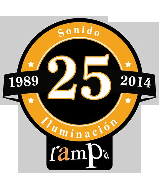 Logo 25 Aniversario Rampa- Huesca