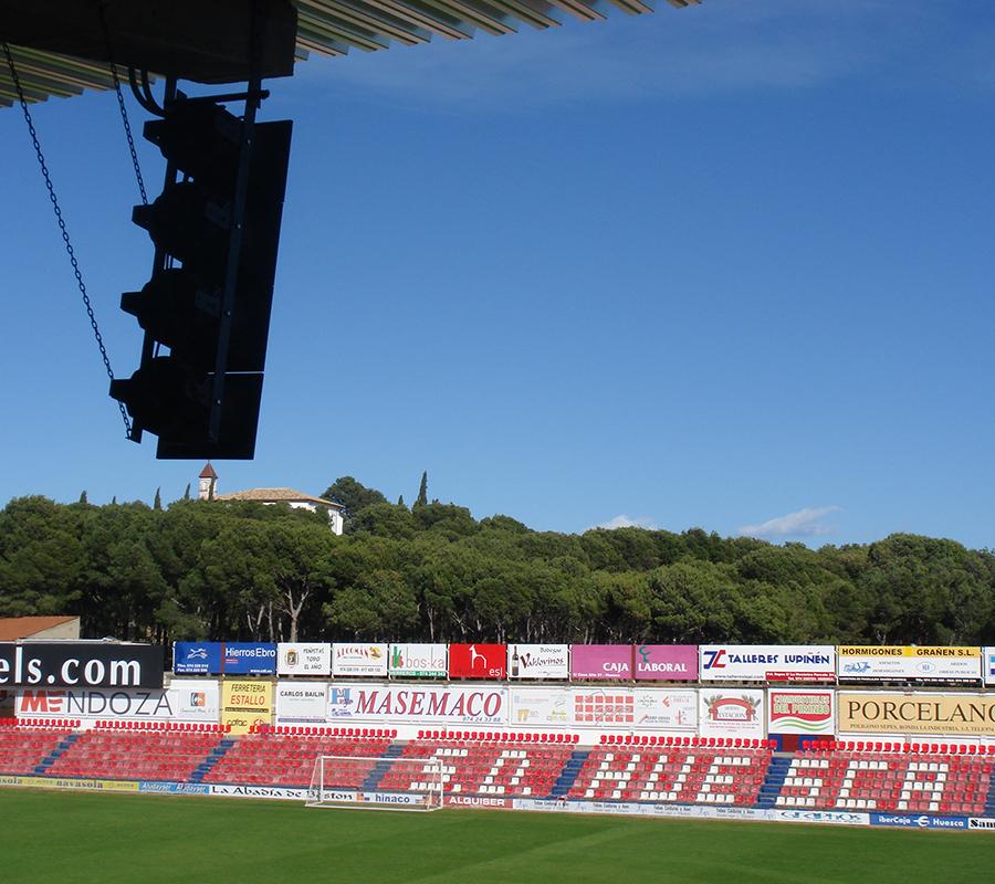 Equipo de Sonido Estadio El Alcoraz Huesca