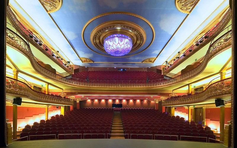 Instalación Teatro Olimpia Huesca