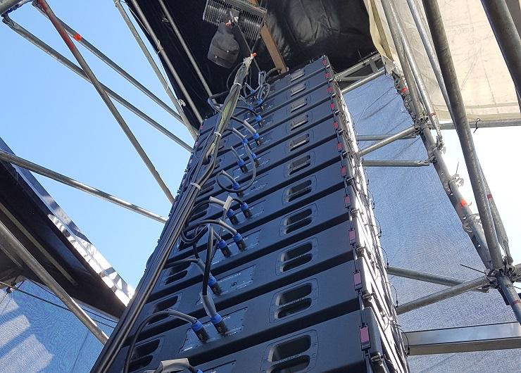 Line Array JBL Pro VTX A12 Rampa Huesca