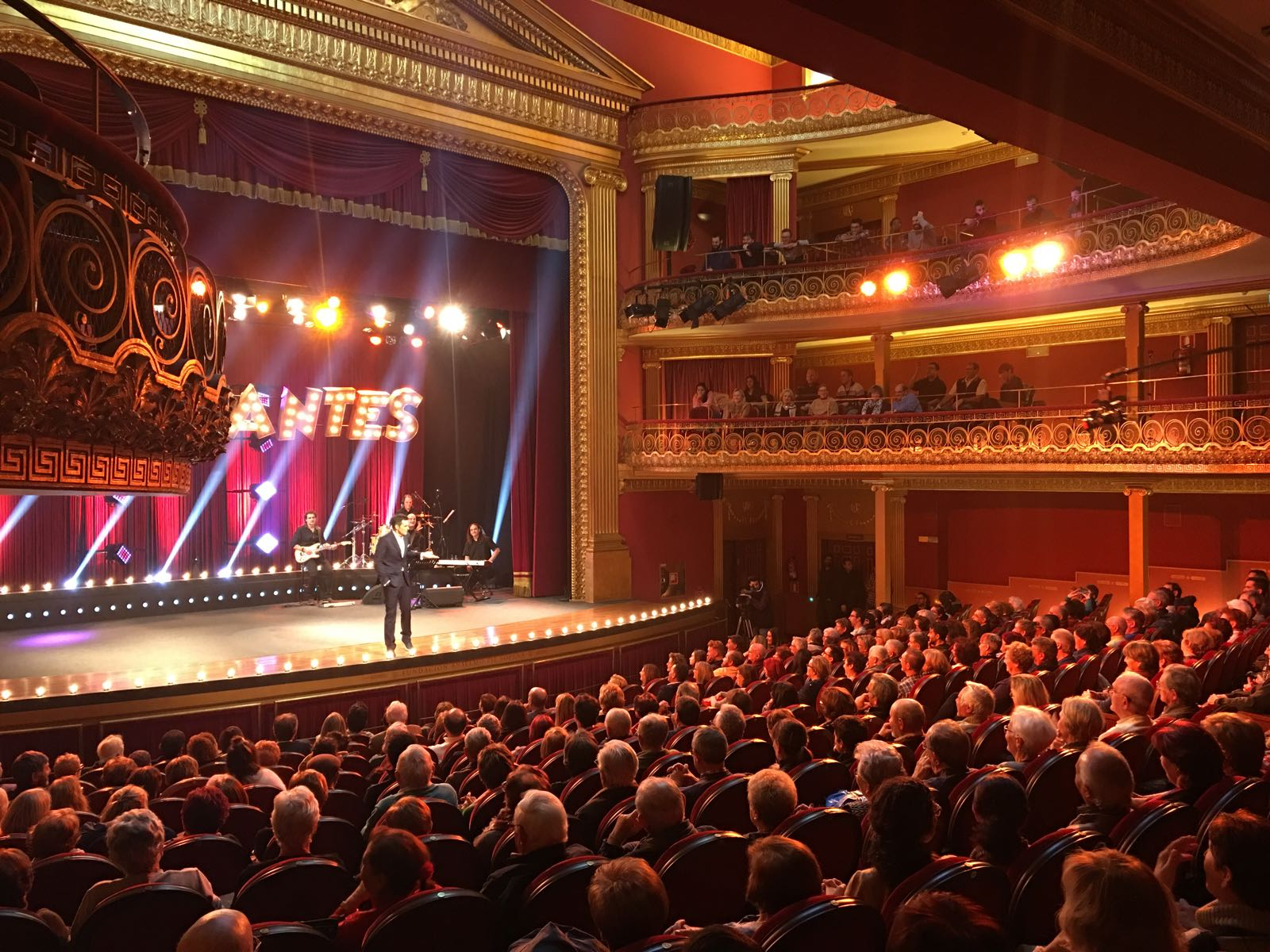 Grabación Teatro Olimpia Programa Comedyantes Aragón TV