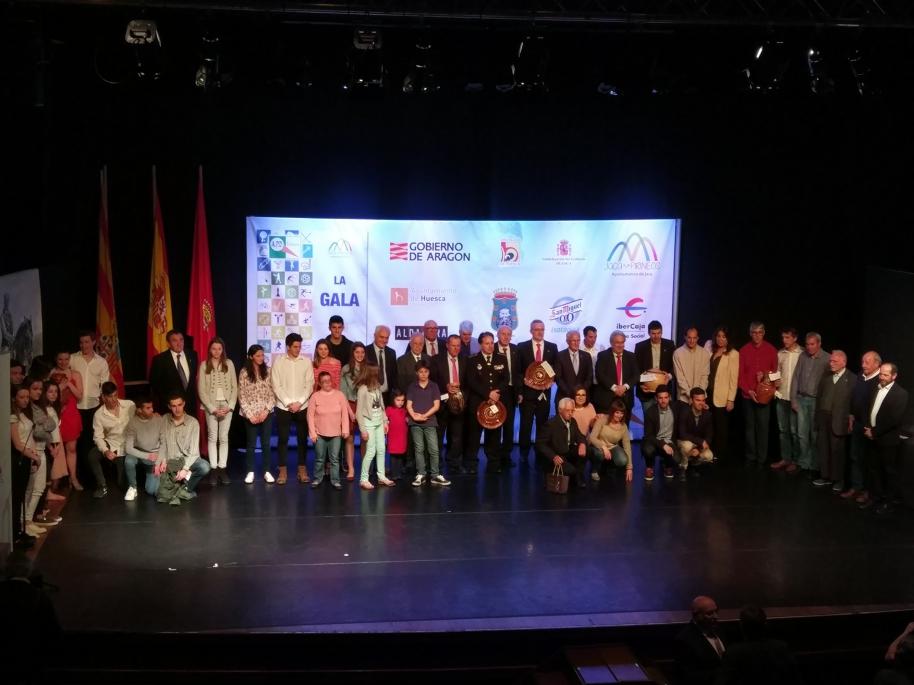 XVIII Gala Deporte Provincial de Huesca