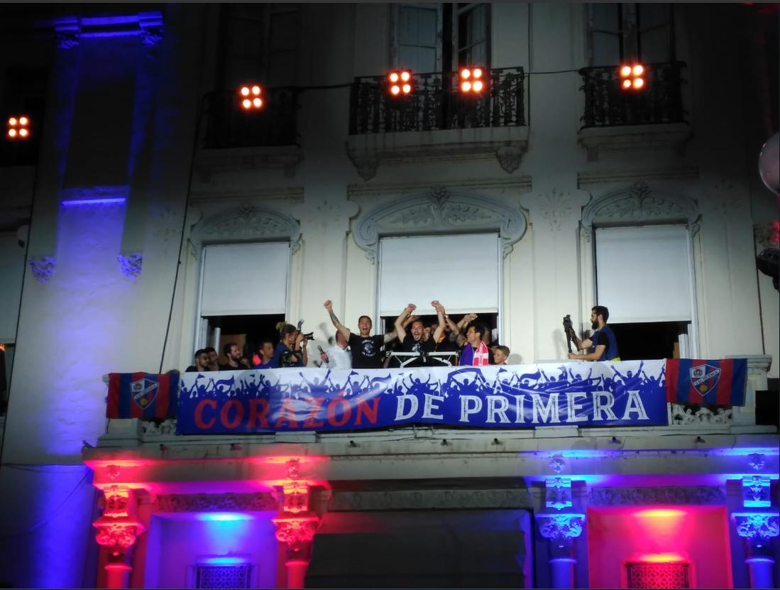 Fiesta de Ascenso Primera División SD Huesca