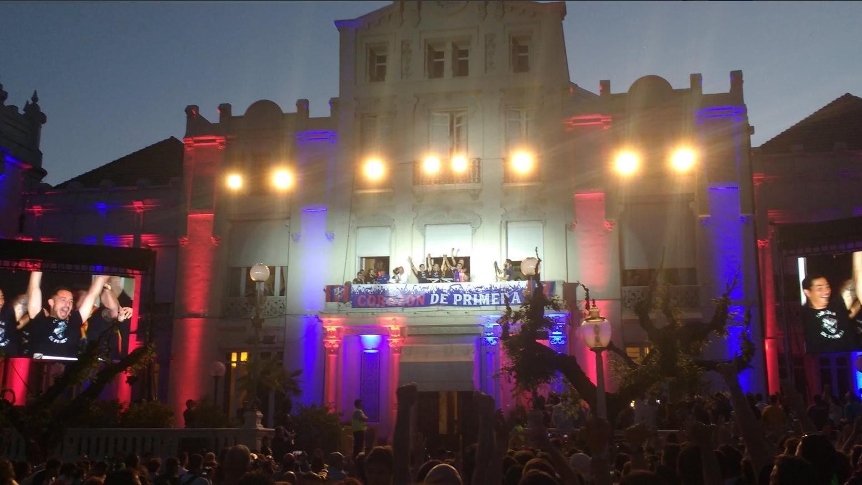 Rampa Huesca con la Fiesta de Ascenso a Primera División SD Huesca